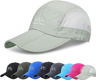 FADA Quick Dry Outdoor Sun Hat for Fishing Hiking Safari Travel UPF 50+ Breathable Packable Mesh Baseball Cap …