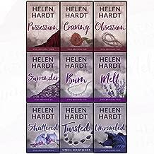 Helen Hardt Steel Brothers Saga 9 Books Set Collection (Books 1-9), Melt, Burn..