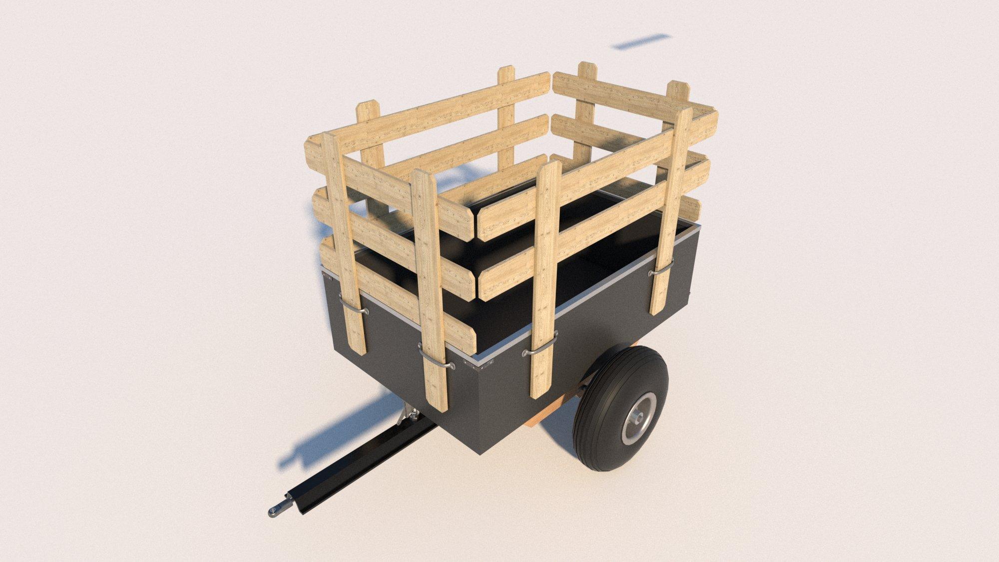 DIY Planes para construir su propio tractor de jardín remolque divertido para construir!: Amazon.es: Jardín