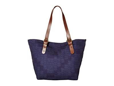 Prana Slouch Tote Medium (Noir Tectona) Tote Handbags