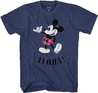 Mickey Mouse Hawaii Aloha Mickey Men's T-Shirt