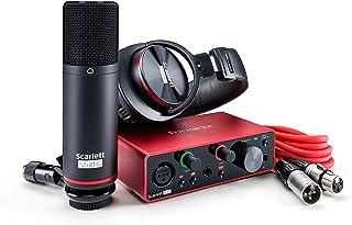 Focusrite フォーカスライト オーディオインターフェイス 2イン/2アウト Scarlett Solo Studio Pack (3rd Gen) ステッカー付きセット 【国内正規品】 Scarlett Solo SP (gen3) [S]