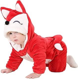 Unisex-Baby Animal Onesie Costume Cartoon Outfit Homewear