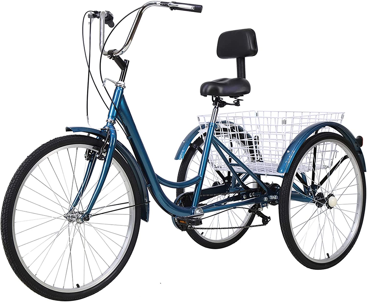 Slsy Adult Super intense SALE Tricycles 7 Speed Trikes 26 3 wholesale inch 24 Whe 20
