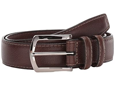 Torino Leather Co. 35 mm Italian Glazed Milled Calf (Brown) Men