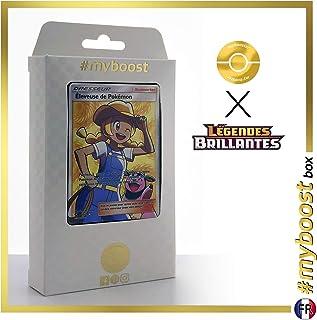 Eleveuse de Pokémon (Pokémon Breeder) 73/73 Full Art Trainer - #myboost X Soleil & Lune 3.5 Légendes Brillantes - Box of 10 Pokemon French Cards