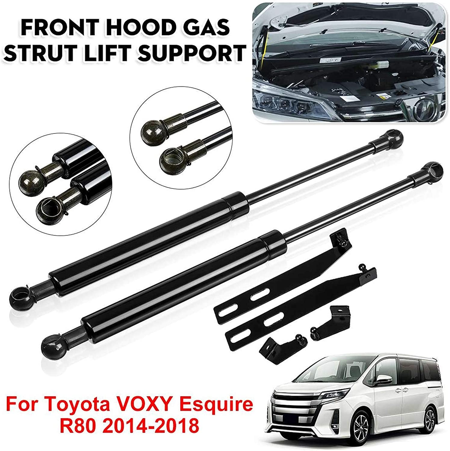 Lift Support Struts for Toyota VOXY R80 Esquire 2015 2016-2 2014 Max Very popular 55% OFF