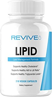 Revive MD   Lipid   Support Healthy Cholesterol   Supports Healthy HDI to Ldi Ratio   Supports Healthy Triglyceride Levels...