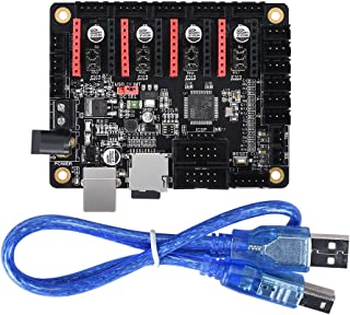 KINGPRINT SKR Mini Controller Board for 3D Printer Compatible with 12864LCD / Support A4988 / 8825 / TMC2208 / TMC2100 Driver (DC Plug Power)