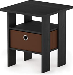 Black Small Nightstand