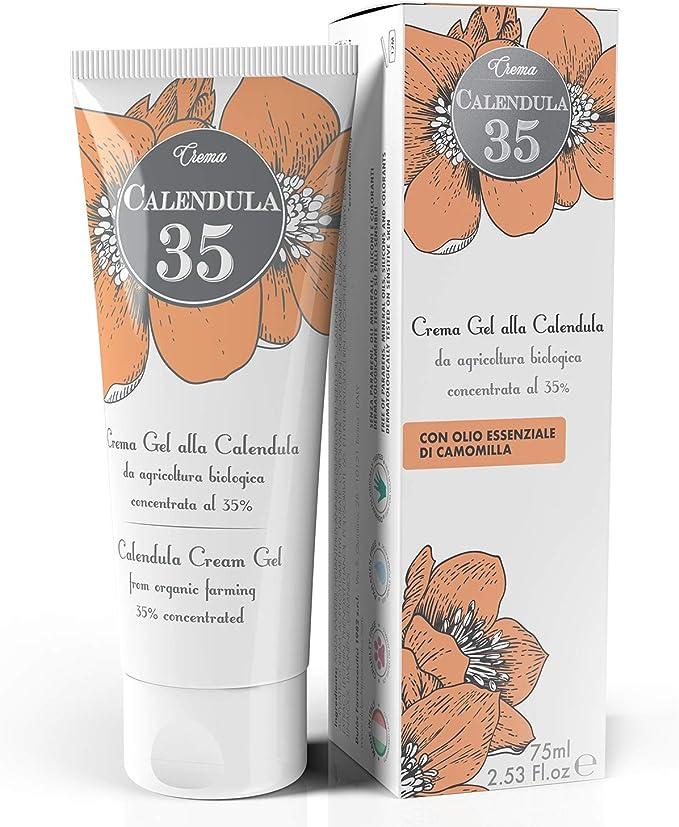60 opinioni per Dulàc Calendula Crema Gel Made in Italy, Crema Calendula da Agricoltura