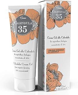Calendula Crema 75 ml Dulàc - Crema Calendula da Agricoltura Biologica - Ideale come Crema Cambio Pannolino, per Idratare,...