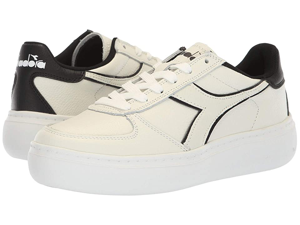 Diadora B.Elite L Platform (White/Black) Women