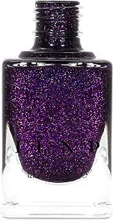 ILNP Vanity - Deep Purple Holographic Nail Polish, Endless Depth, Chip Resistant, Non-Toxic, Vegan, Cruelty Free