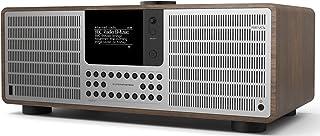 Revo SuperSystem - Radio de Internet (Dab+/FM, Wi-Fi, Bluetooth, Pantalla OLED, 80W), Color marrón (Importado)