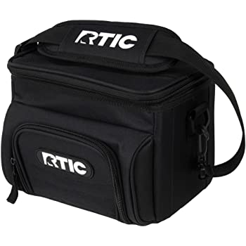RTIC Day Cooler, 6 Can, Black