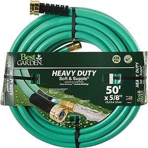 Swan Products Best Garden 5/8 in. Dia. x 50 Ft. L. Heavy-Duty Soft & Supple Garden Hose - 1 Each