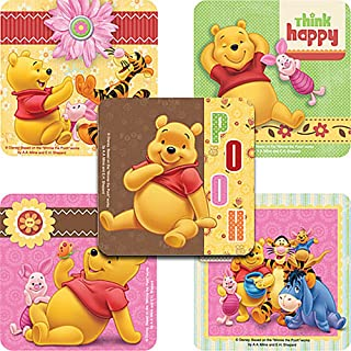 Disney Winnie The Pooh and Friends Stickers - Party Favors - 100 Per Pack