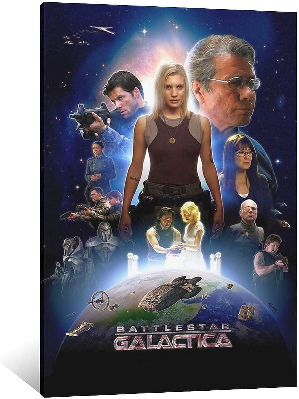 SUPERYUFENG Battlestar Galactica Series Canvas Art Ranking TOP6 and Wa Ranking TOP13 Poster