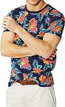 Threadbare Mens Short Sleeved Hawaii Floral T Shirts