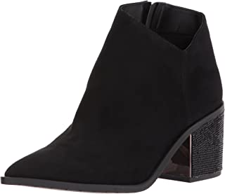 Kenneth Cole REACTION Women's Cue The Music Bootie Ankle Notch Western Style Micro