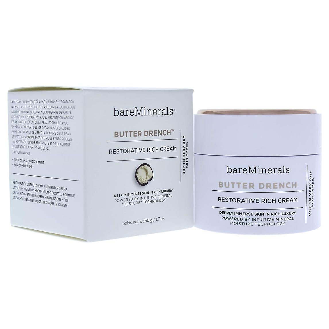 多くの危険がある状況全体に店員ベアミネラル Butter Drench Restorative Rich Cream - Dry To Very Dry Skin Types 50g/1.7oz並行輸入品