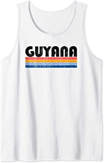 Vintage 70s 80s Style Guyana Tank Top