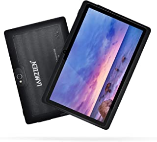 7 Inch Tablet,LAMZIEN Android 8.1 Tablet PC,Quad-Core 1GB RA