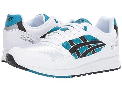 ASICS Tiger Gel-Saga (Teal Blue/Black) Classic Shoes