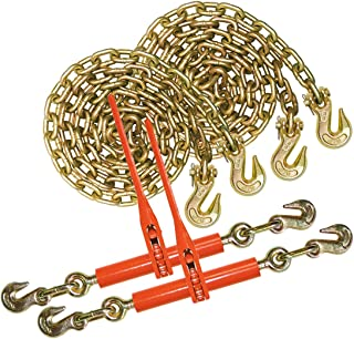 """Vulcan 3/8"""" x 20' G70 Chain and Binder Kit - 6,600 lbs. Safe Working Load"""