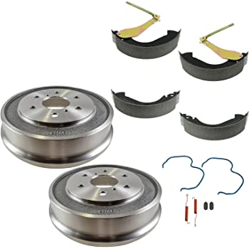 Rear Brake Drum Shoe Hardware Set Kit for Chevy Silverado GMC Sierra 1500