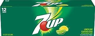 7UP Lemon Lime Regular Soda (12 Cans), 12 Ounce