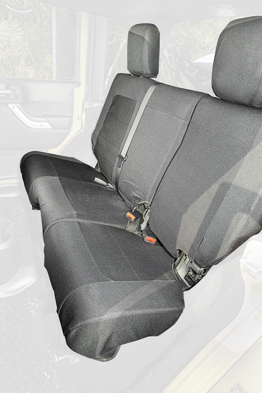 famous Rugged Ridge 13266.02 Elite Ballistic Black; Seat Rear Cover 0 Spasm price