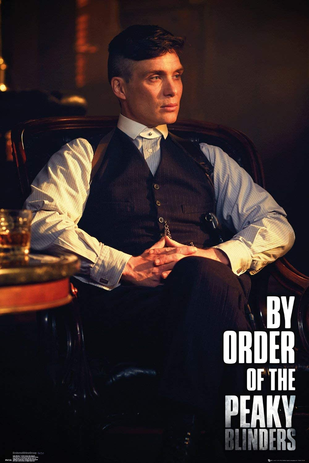 Peaky Blinders Poster Thomas Shelby Wall Decor Wall Print Wallpaper Tommy Shelby Home Decor