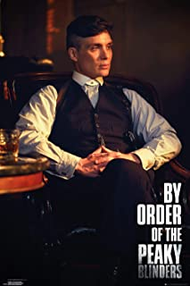 Peaky Blinders Tommy (Cillian Murphy) Poster, Size 24x36