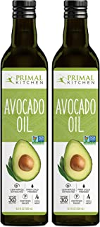 Primal Kitchen - Avocado Oil, Whole 30 Approved, Paleo Friendly and Cold Pressed (16.9 oz) - Two Pack