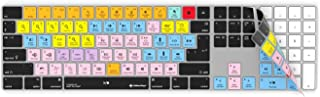Avid Pro Tools Keyboard Cover | Fits Wireless Apple Magic Keyboard with Numeric Pad | Edit Faster