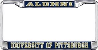 pitt alumni license plate frame