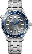 Omega Seamaster Automatic Grey Dial Men's Watch 210.30.42.20.06.001