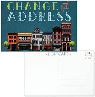 Change of Address Postcards - Moving Announcement Card to Mail - Size 4x6 - Pack of 25
