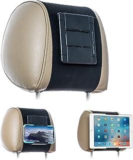 WANPOOL - Soporte para reposacabezas de vehículo, para tabletas y teléfonos con pantallas de 5 a 10,5 pulgadas, compatible...