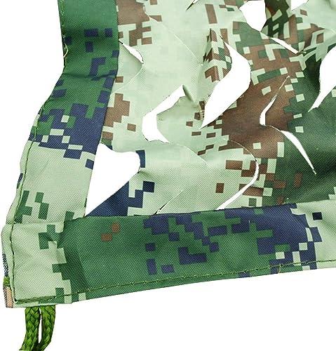 Chunlan 420D Tissu Oxford Filet De Camouflage épaissir Résistant Impression Recto Verso écran Solaire Anti-UV étanche à La Poussière Pare-Soleil (Taille   6X8m)