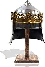 Antique Replica 13Th Century King Robert The Bruce Medieval Armor Display Helmet 18ga Steel Templar