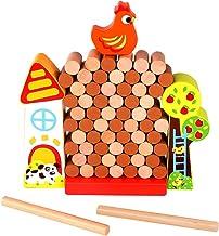 Jogo De Equilíbrio Da Galinha Na Fazenda - Tooky Toy, Multicolorido