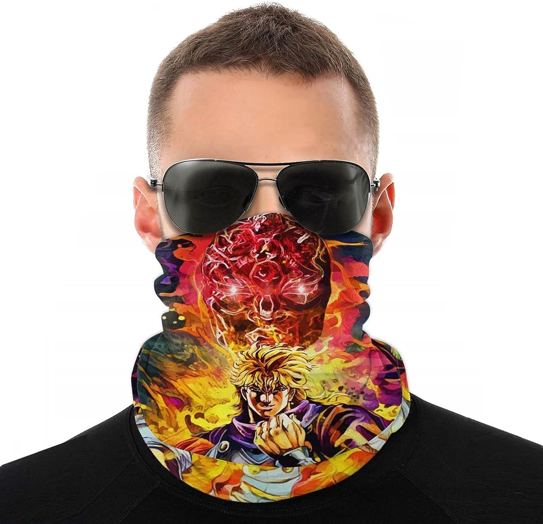 Máscara de vampiro JoJo's Bizarre Adventure anime Bufanda de moda bufandas protección DIY variedad cabeza bufanda Unisex