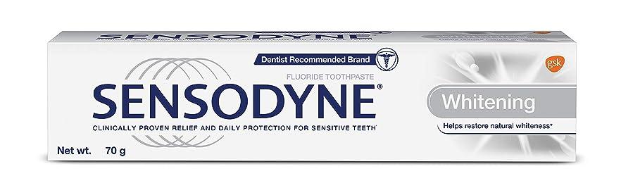 Sensodyne Sensitive Toothpaste Whitening - 70 g
