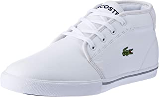 Lacoste Ampthill LCR3 Men's Fashion Shoes, WHT/WHT
