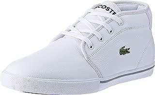 Lacoste Ampthill LCR3 Men's Fashion Shoes, WHT/WHT