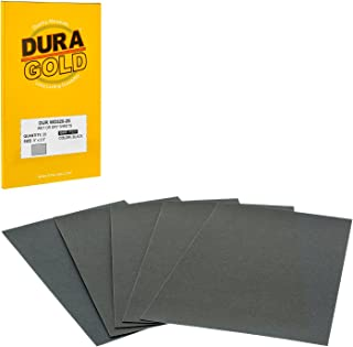 Dura-Gold - Premium - Wet or Dry - 320 Grit - Professional Cut to 5-1/2