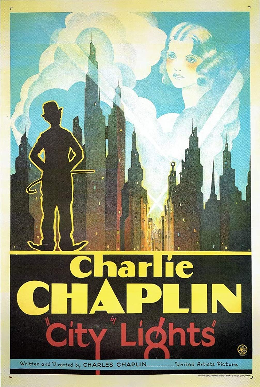 Black Creations CIty Lights nr 2 1931 1931 1931 Poster Canvas